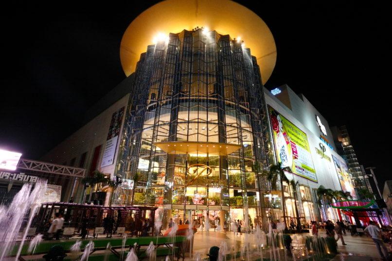 タイのショッピングエリア