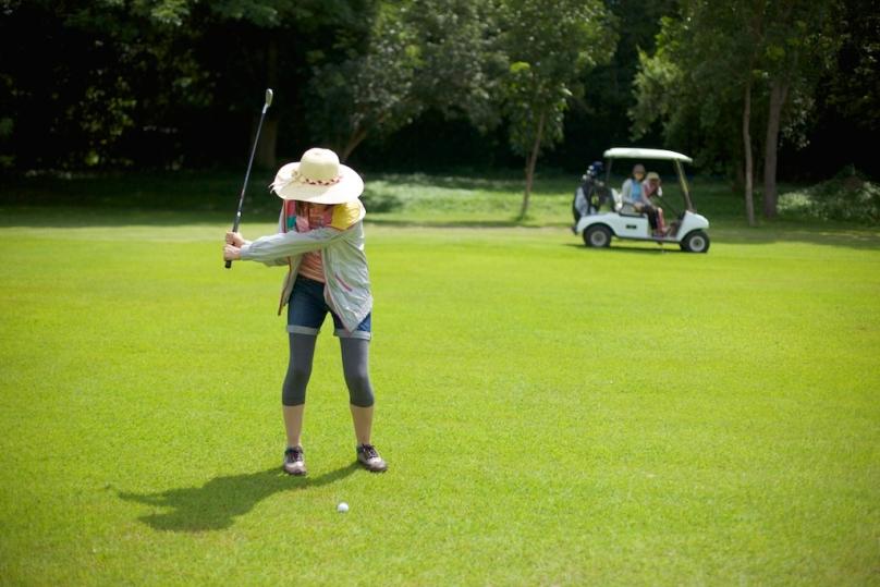 ホアヒンのゴルフ場