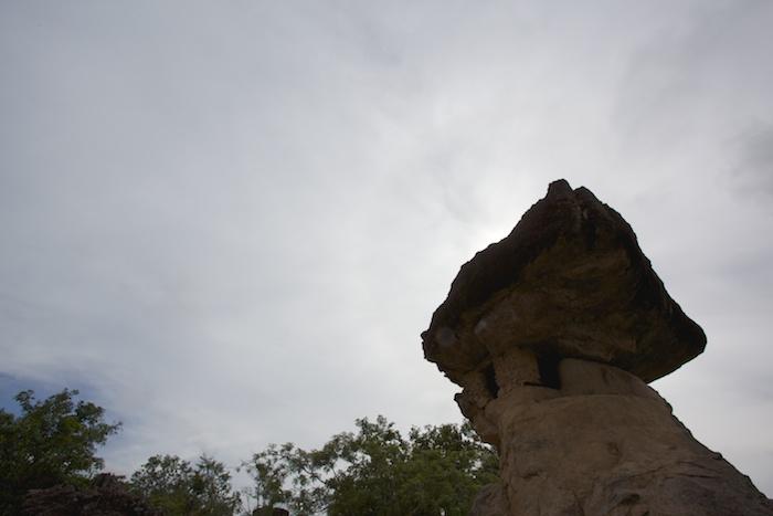 バーンプーの奇岩群