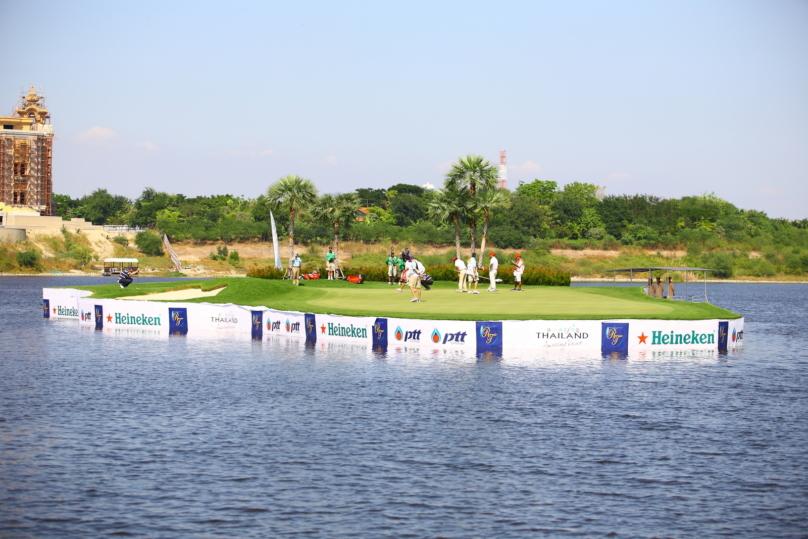 パタヤのゴルフ場
