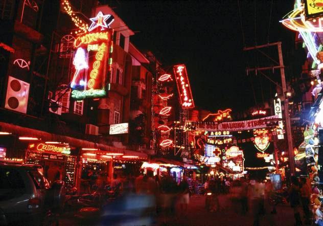パタヤの夜の風景
