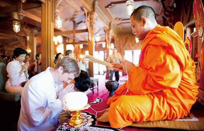 タイの伝統ウエディング